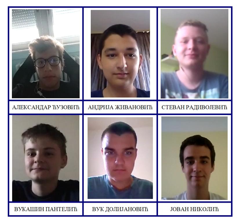 Млади српски математичари освојили пет медаља на Балканској јуниорској математичкој олимпијади